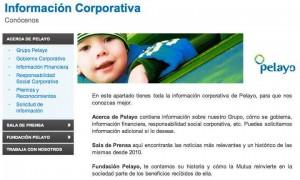 Información corporativa de Pelayo