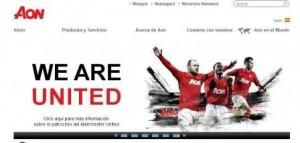 Aon patrocinará al Manchester United hasta 2021