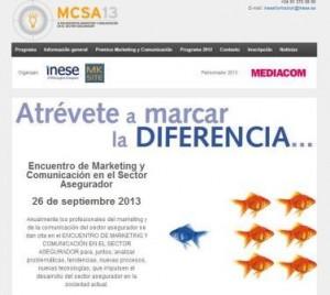 IX Encuentro de Marketing y Comunicación en el Sector Asegurador