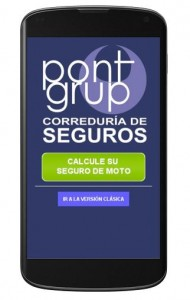 Pont Grup web movil