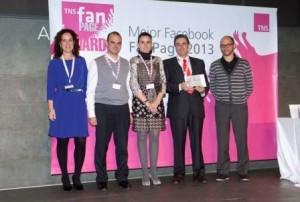 Mapfre TeCuidamos recibe el Premio TNS