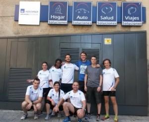 Axa assistance celebra su semana de responsabilidad social for Axa oficinas centrales madrid