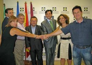 Colegio de Malaga reunion PSOE
