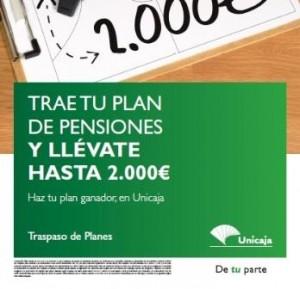 17879b46cce2b Unicaja adelanta la campaña de pensiones al verano con bonificaciones de  hasta el 2