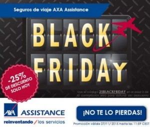 AXA Assistance Black Friday 2015