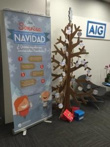 AIG campana Navidad 2015