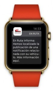 Linea Directa En ruta apple watch dic 15