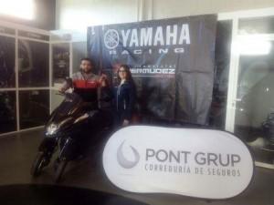 Pont Grup entrega yamaha