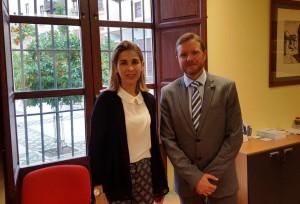 Colegio Granada reunion Genaro y concejal empleo feb 16
