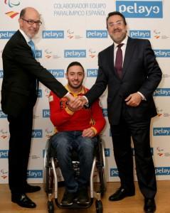 Pelayo colabora con Paralimpicos mar 16