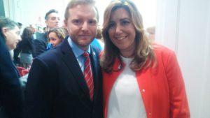 Congreso Granada Genaro Sanchez y Susana Diaz may 16