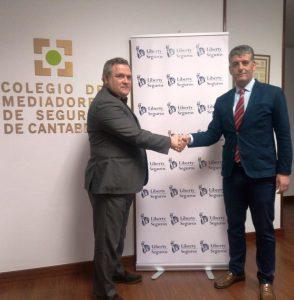 Liberty Seguros acuerdo Colegio Cantabria may 16
