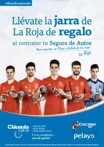 Pelayo jarra la roja Euro 2016 may 16