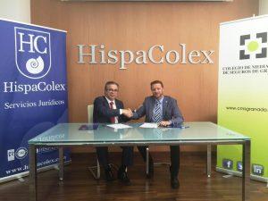 Colegio Granada acuerd Hispacolex jun 16