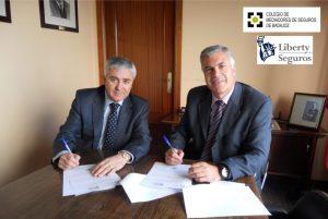 Liberty seguros acuerdo Colegio Badajoz jun 16