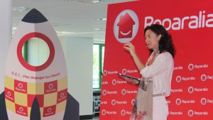 Reparalia Carina Szpilka hablando sobre Innovacion jun 16