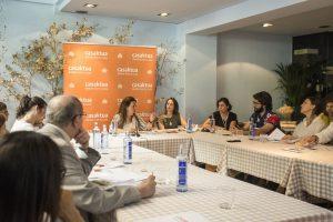 RP II Casaktua_ portavoz Chus de Miguel directora comercial de Casaktua.com