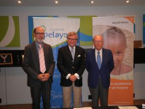 Fundacion Pelayo acuerdo World Vision sep 16