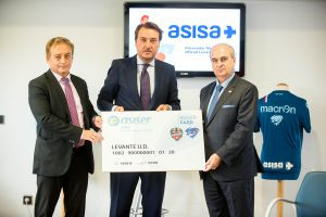 ASISA renueva con el Levante UD oct 16
