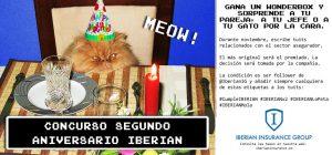 Iberian Concurso segundo aniversario nov 16
