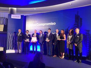 Lloyds VI Premios Compromiso VMZ nov 16