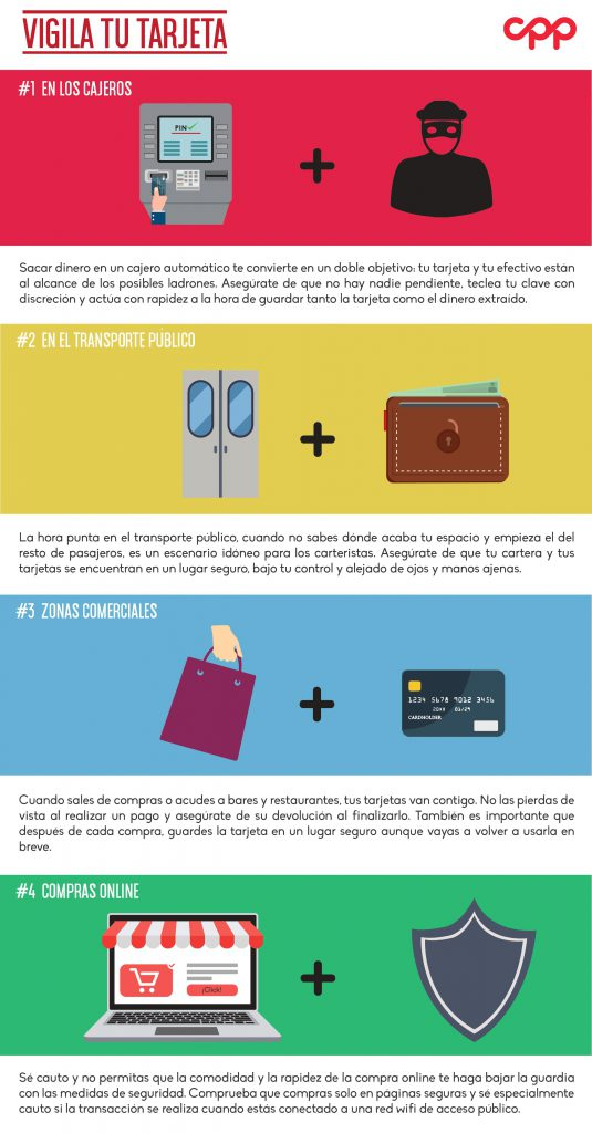 Infografia CPP incidencias tarjetas dic 16
