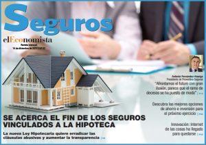Resultado de imagen de Adiós a los seguros vinculados a las hipotecas con la nueva ley