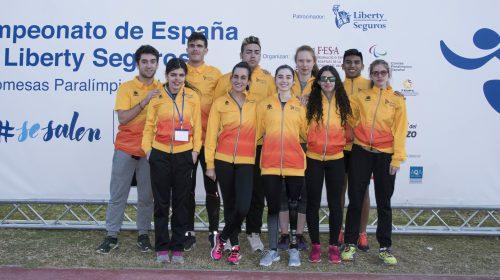 Equipo Liberty Seguros de Promesas Paralímpicas de Atletismo