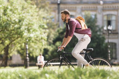 Bicicleta seguro de hogar