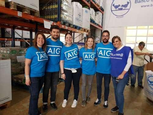 empleados de AIG