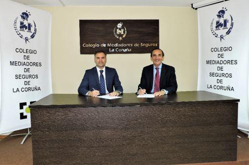 Liberty Seguros renueva su alianza con el Colegio de La Coruña