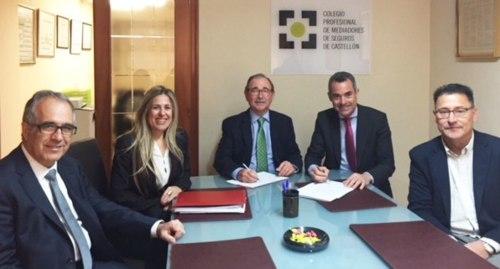 Plus Ultra Seguros y el Colegio de Mediadores de Seguros de Castellón