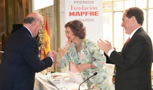 Vicente del Bosque Premios Fundación Mapfre