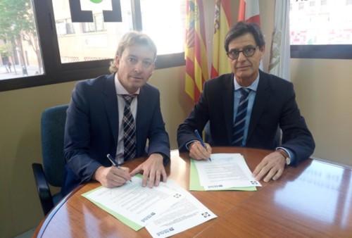 Reale y el Colegio de Huesca