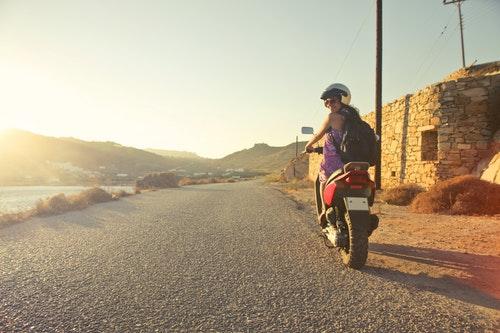 Las motos son para el verano