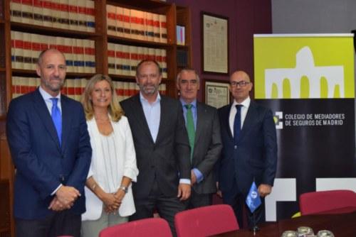 El Colegio de Madrid y Zurich renuevan su acuerdo de colaboración