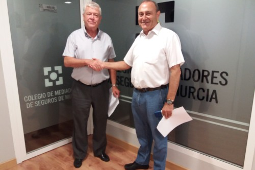Asisa y el Colegio de Mediadores de Murcia