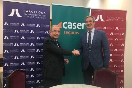 Caser y el Colegio de Barcelona