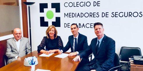Axa y el Colegio de Mediadores de Albacete