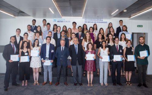 Fundación Mutua Madrileña concede 40 becas de posgrado