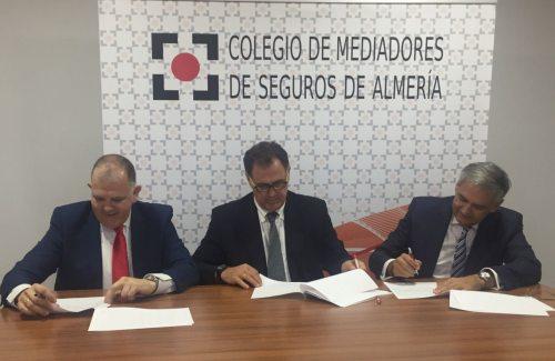 Plus Ultra Seguros y el Colegio de Mediadores de Seguros de Almería