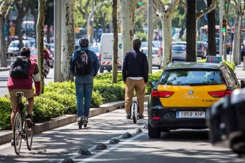 Barómetro del Ciclista Urbano en Barcelona