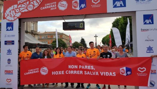 Ponle Freno celebra su tercera cita en Pontevedra
