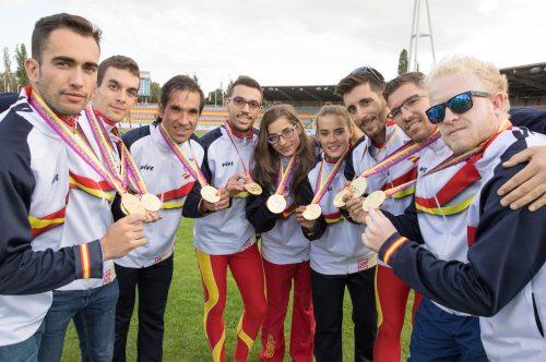 promesas del Equipo Liberty de Atletismo