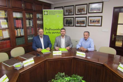 Liberty Seguros y el Colegio de Alicante