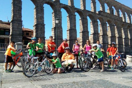 marcha ciclista Segovia