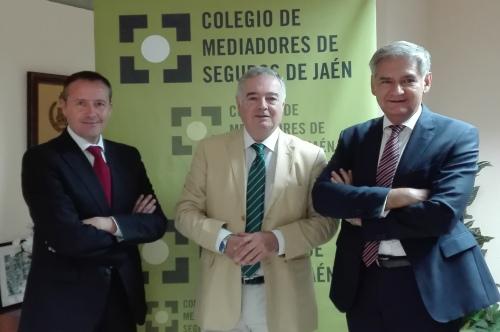 Plus Ultra y el Colegio de Jaén se alían para impulsar la mediación