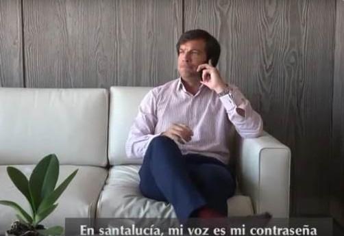 reconocimiento de voz Santalucía