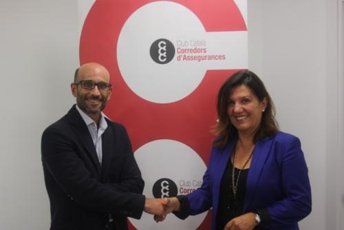 Asefa y Club Català de Corredors d'Assegurances (CCC) firman un acuerdo de colaboración