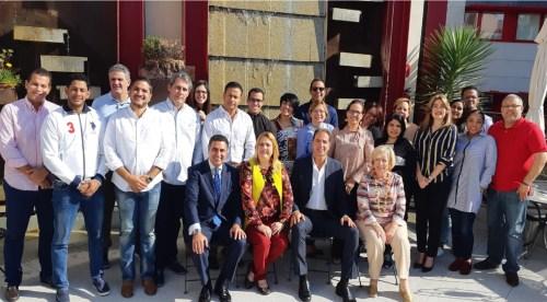 Javier García-Bernal imparte una ponencia a la asociación dominicana de corredores